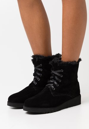 CRAIG - Wedge Ankle Boots - black