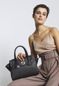 MICHAEL Michael Kors - FLAP SATCHEL - Handbag - black - 1