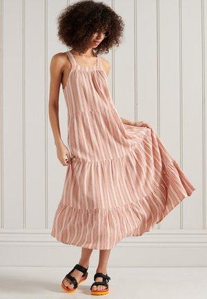 Day dress - pink stripe