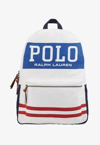 Polo Ralph Lauren - BIG BACKPACK - Batoh - white - 1
