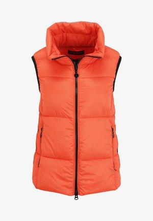 Waistcoat - orange flame
