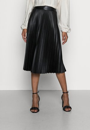 JADA SKIRT - Jupe plissée - black