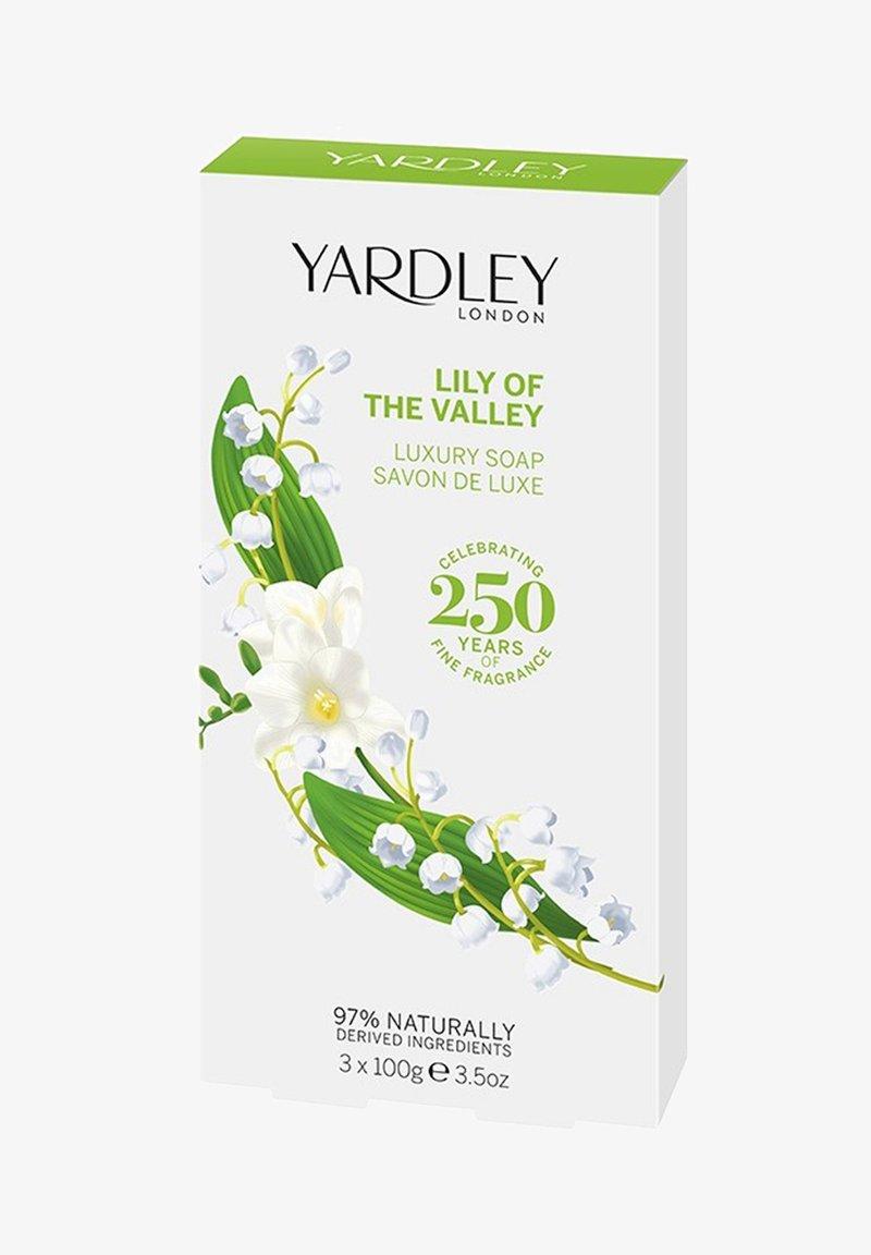 Yardley London - ENGLISCHE LUXUS SEIFE MAIGLÖCKCHEN 3X100 G - Soap bar - -