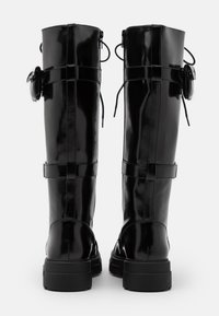 ALDO - SADIYA - Botas con cordones - black - 3