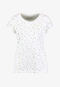 edc by Esprit - CORE - T-shirt z nadrukiem - off white - 4