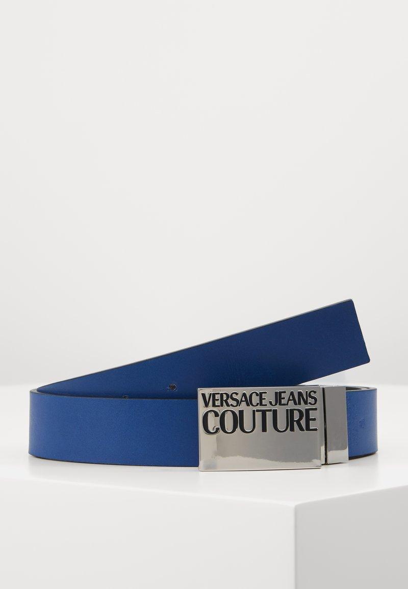 Versace Jeans Couture - Belt - black/silver/dark blue
