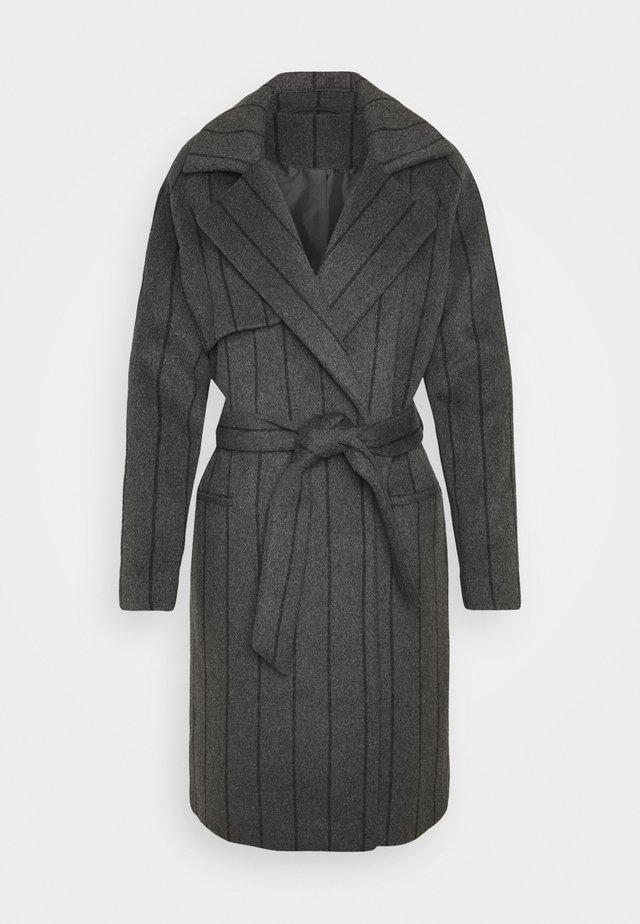 PINSTRIPE - Zimní kabát - dark grey melange