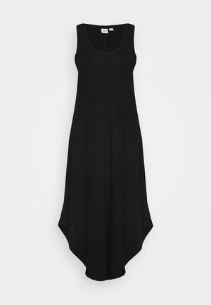MIDI - Jersey dress - true black