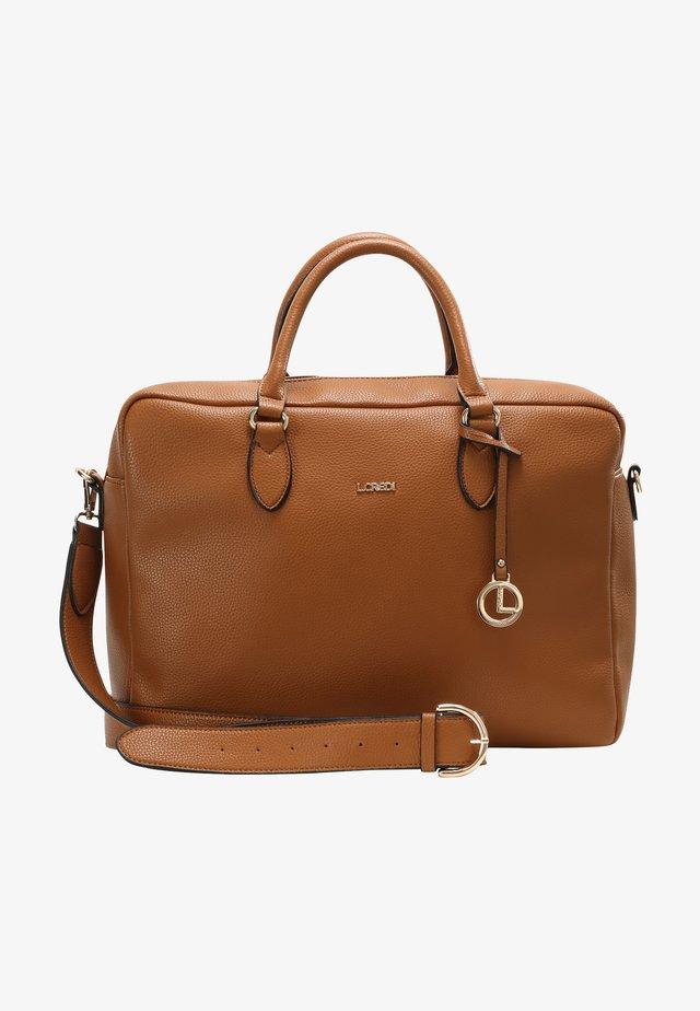 ELLA - Briefcase - cognac
