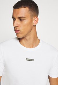 Jack & Jones Performance - JCOZSS TEE SLIM FIT 2 PACK - Basic T-shirt - black/white - 6