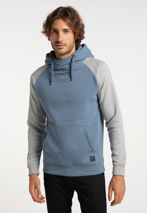 Hoodie - blaugrau