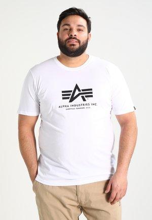 BASIC CAMO - Print T-shirt - weiss