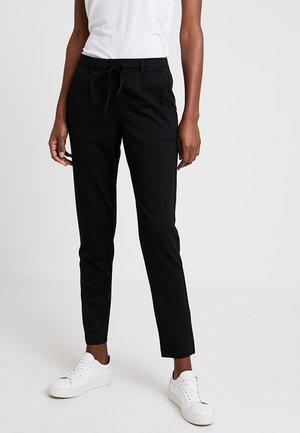 PANTS ANKLE - Trousers - deep black