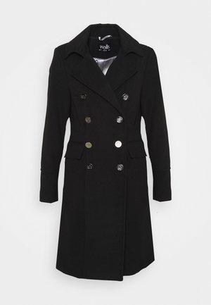 LONGLINE REVERE - Płaszcz wełniany /Płaszcz klasyczny - black