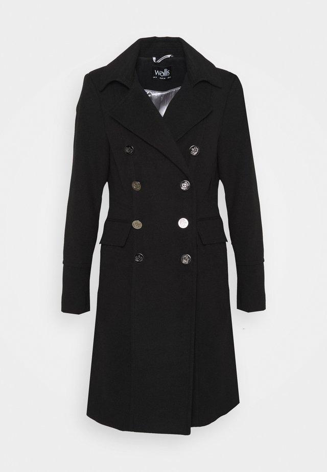 LONGLINE REVERE - Classic coat - black