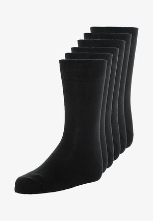 BASIC 6 PACK - Calcetines - black
