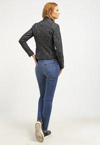 ONLY - ONLAVA BIKER  - Faux leather jacket - black - 2