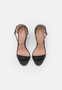 Madden Girl - BEELLA - Højhælede sandaletter / Højhælede sandaler - black paris - 5