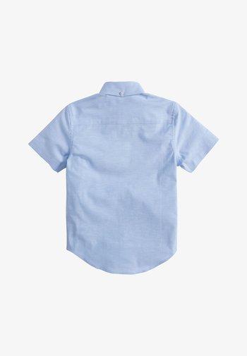 WHITE WITHOUT STAG OXFORD - Vapaa-ajan kauluspaita - blue