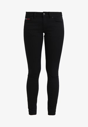 Jeansy Skinny Fit - black denim