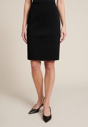 MADRID         - A-line skirt - nero