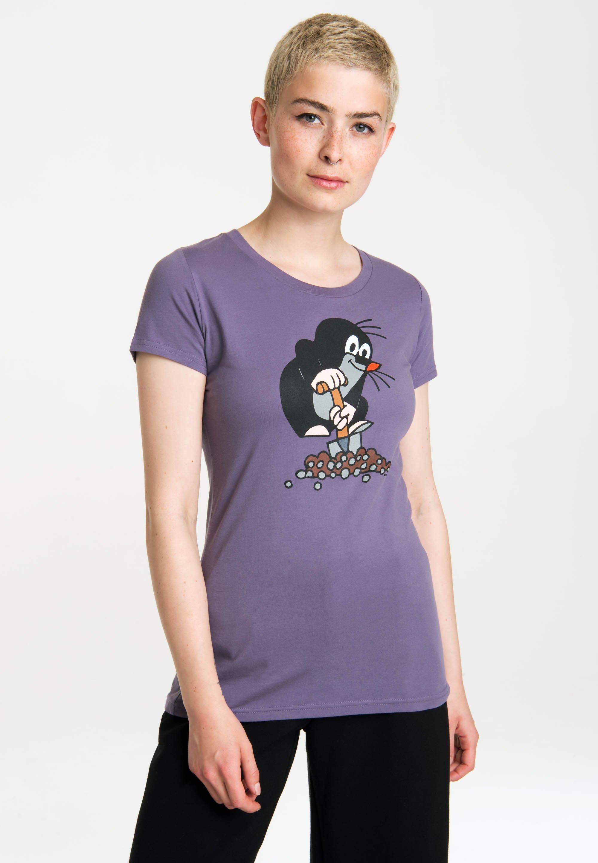 Damen DER KLEINE MAULWURF - T-Shirt print