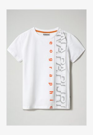 SADYR LOGO - T-shirt print - bright white