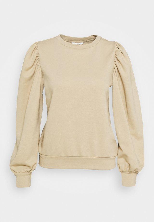OBJMAJA PULLOVER - Sweater - humus