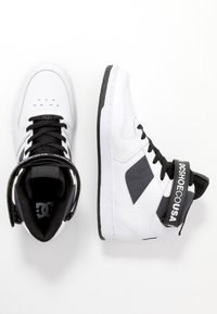 DC Shoes - PENSFORD SE - Skateboardové boty - white/black - 1