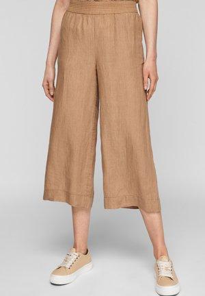 Trousers - desert sand melange