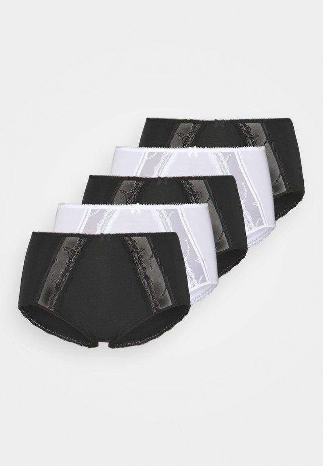 5 PACK - Shorty - black