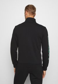 Lacoste Sport - TRACKSUIT - Tracksuit - black/green/white - 2