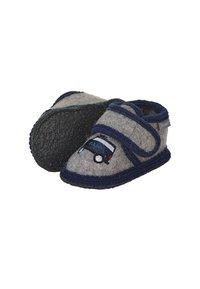 Sterntaler - WINTER HAUSSCHUH - First shoes - dunkelgrau - 1