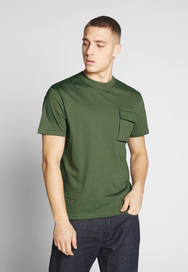 FULTON - T-shirt imprimé - khaki
