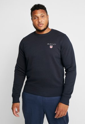 MEDIUM SHIELD CREW - Sweatshirt - black