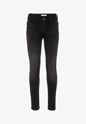 NITCLAS - Slim fit jeans - black denim