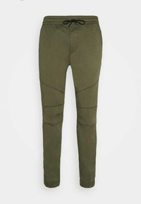 Hollister Co. - JOGGER CORE - Trousers - olive - 4