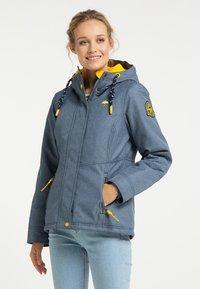 Schmuddelwedda - Winter jacket - marine melange - 3