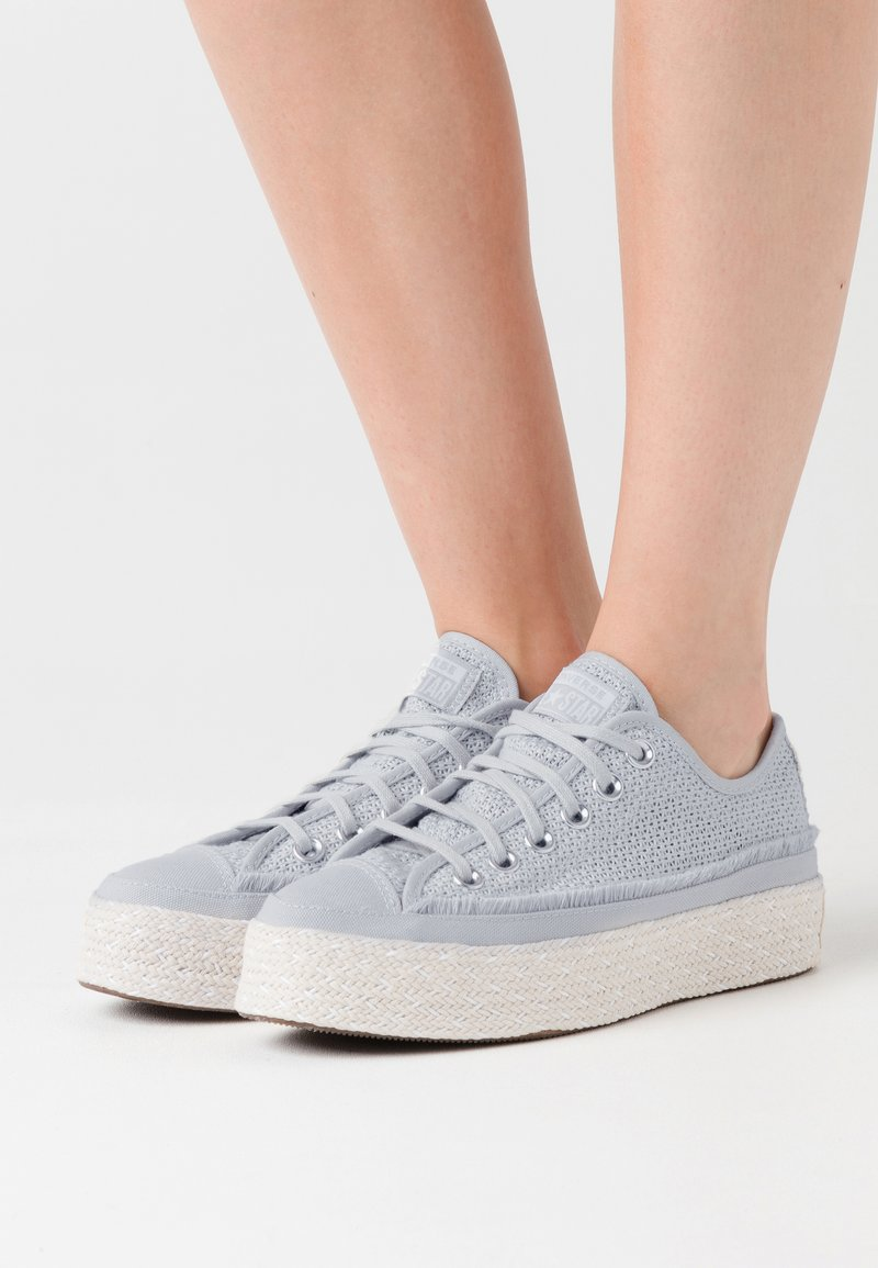 Converse - CHUCK TAYLOR ALL STAR - Espadrilles - mouse/white/natural