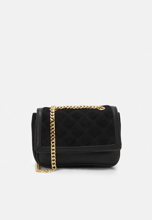 SHANNON QUILTED CROSSBODY - Across body bag - black