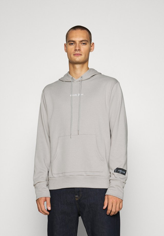 SNAKE PRINT HOODIE - Jersey con capucha - grey