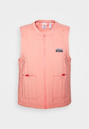 SPORTS INSPIRED REGULAR VEST - Waistcoat - trace pink