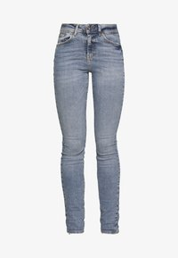 NMVICKY - Jeans Skinny Fit - light blue denim