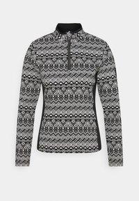 IMMORTAL - Fleece jumper - black/white