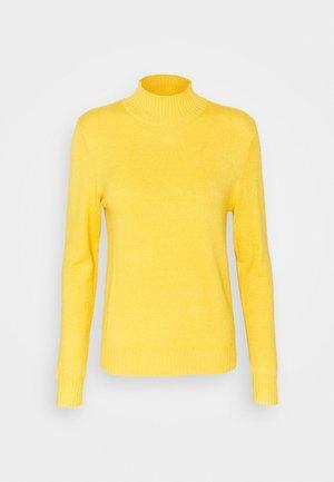 VIRIL TURTLENECK - Jumper - mineral yellow