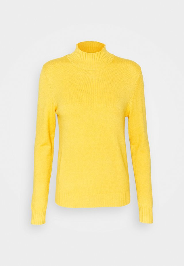 VIRIL TURTLENECK - Pullover - mineral yellow