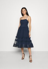 Lace & Beads - SHAY MIDI DRESS - Cocktailkjole - navy - 0