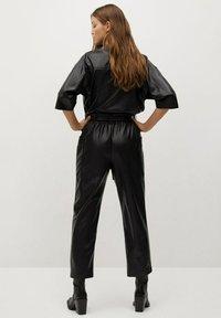 Mango - SEUL - Jumpsuit - schwarz - 1