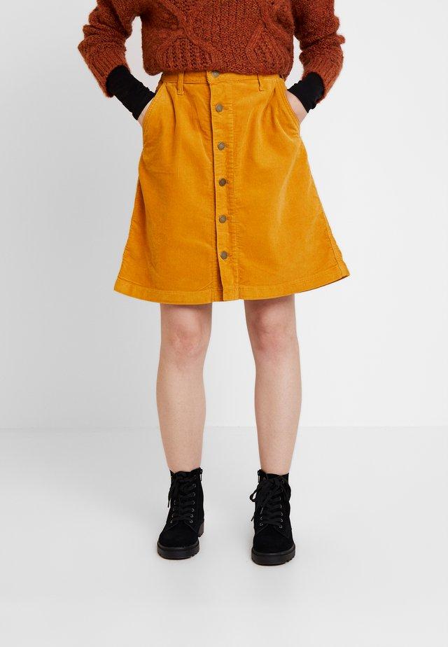 SKIRT - A-line skirt - inca gold