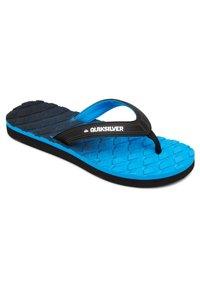 Quiksilver - MASSAGE  - Pool shoes - black/blue/grey - 1